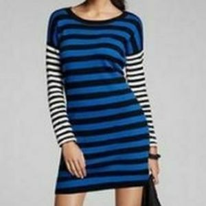 Express Striped Sweater Dress